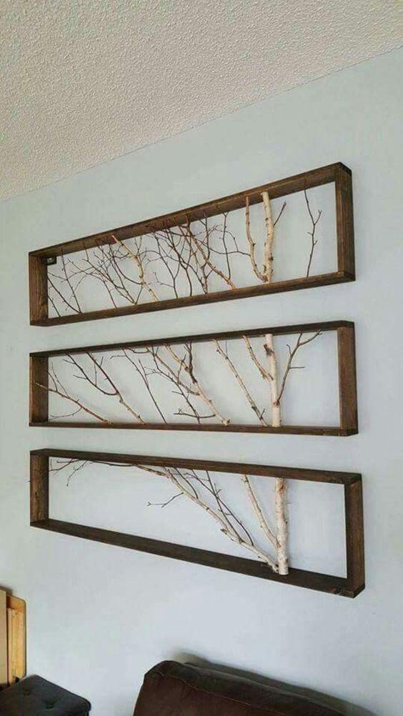 framed twigs