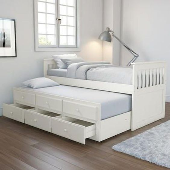 pullout double bed