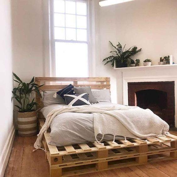 pallet diy bed
