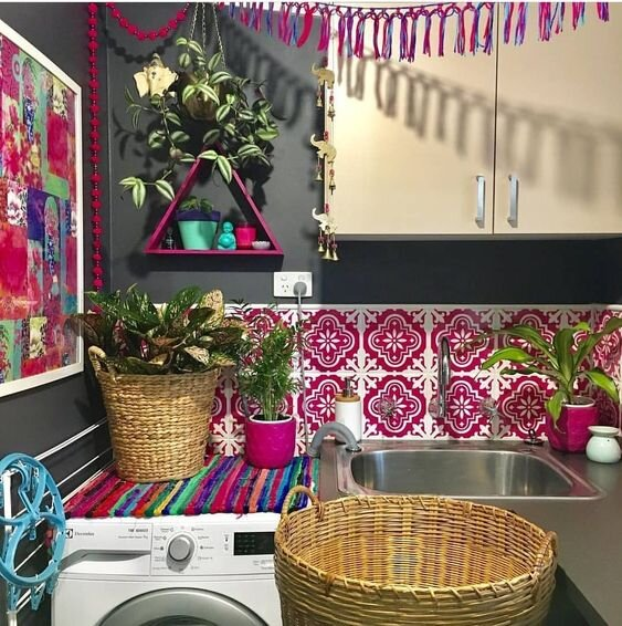 35 Colourful And Cheerful Laundry Room Ideas And Designs Renoguide Australian Renovation Ideas And Inspiration