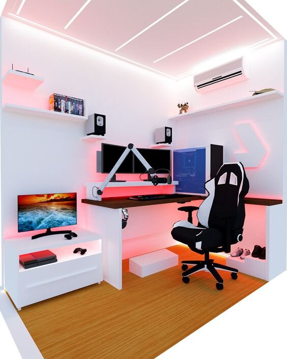 30 Gamers Home Office Ideas And Designs Renoguide Australian Renovation Ideas And Inspiration