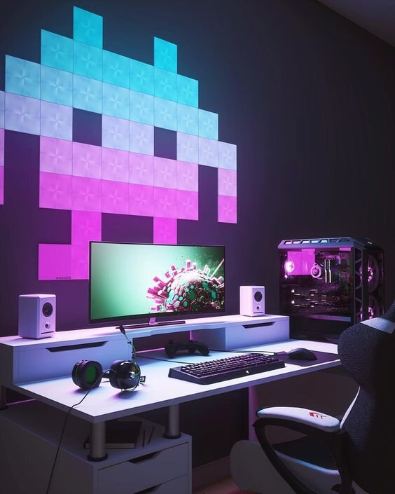 Design Your Room Game: 30 Gamers' Home Office Ideas And Designs