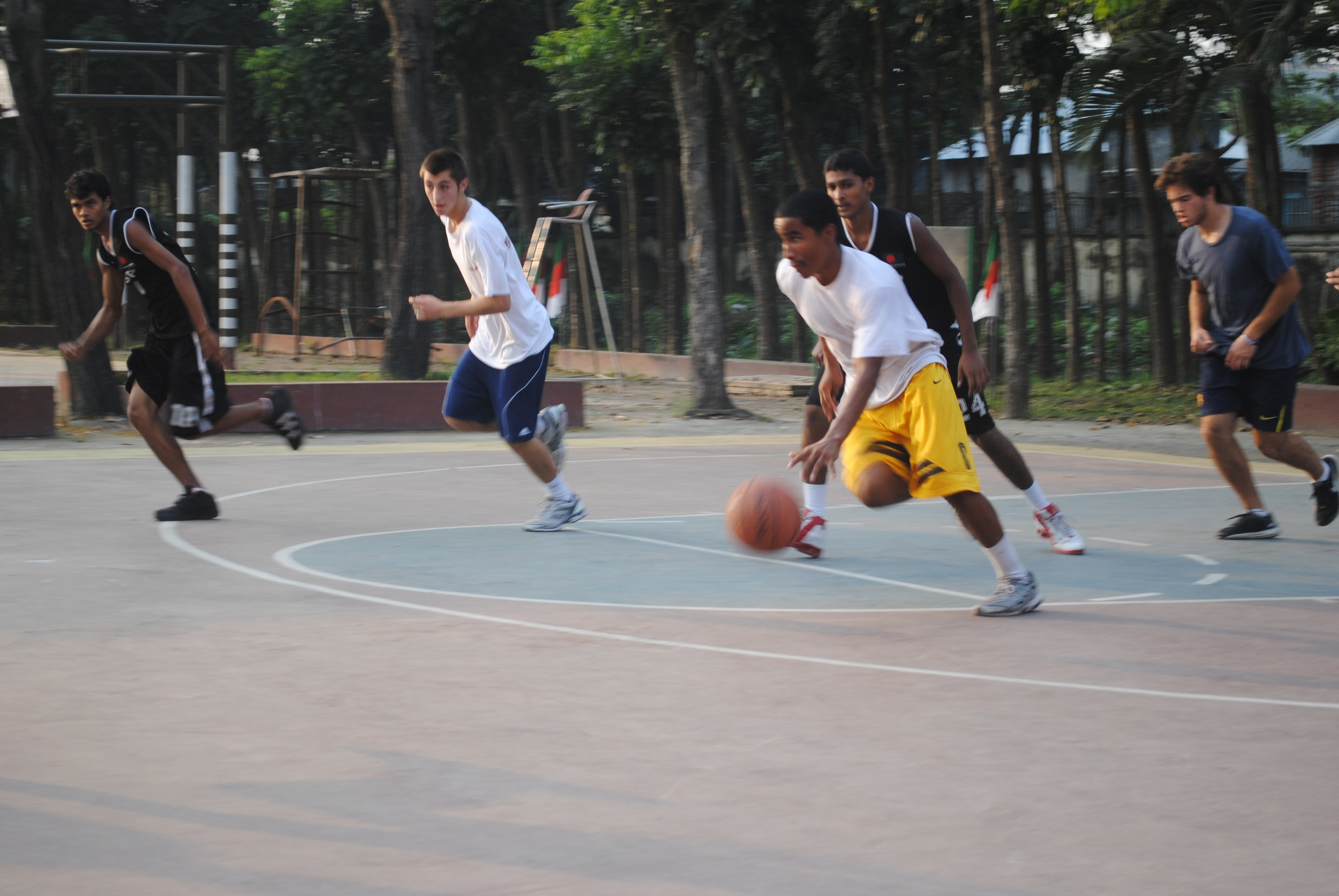 Basketball at BKSP