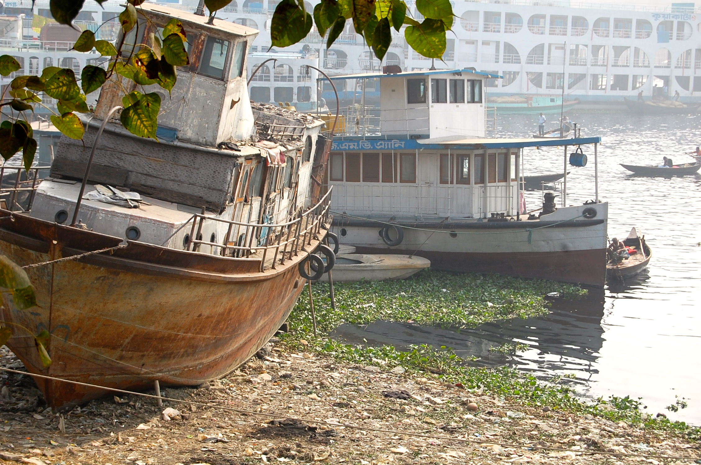 Buriganga river boats