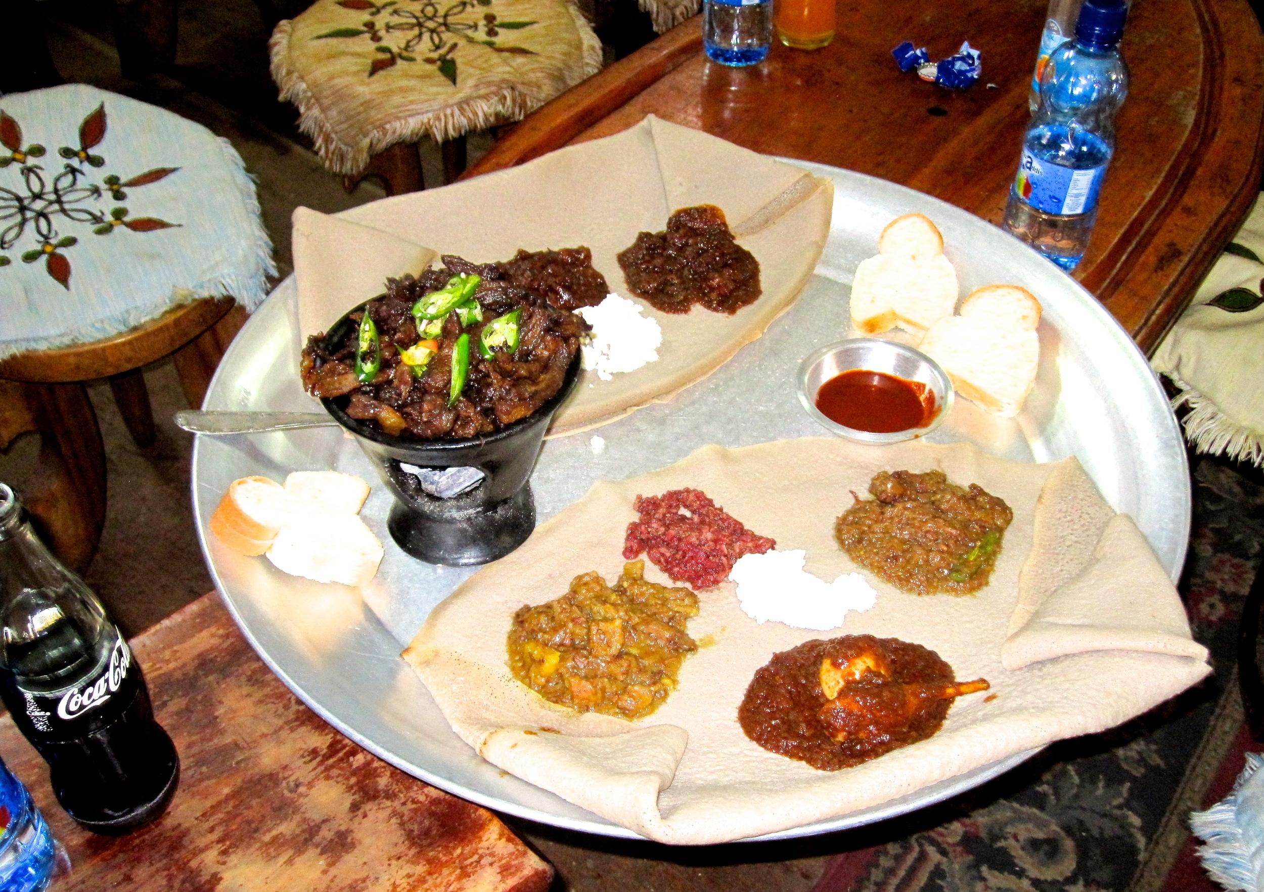 Ethiopia Food Plate