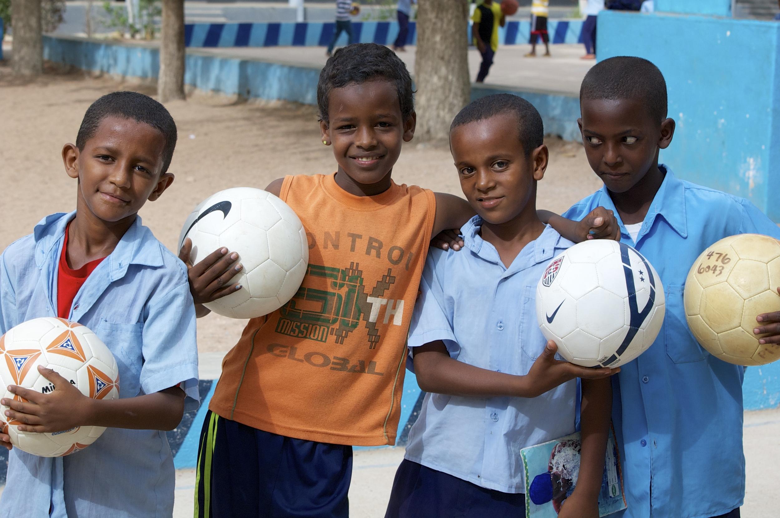 Boys in Ethiopia