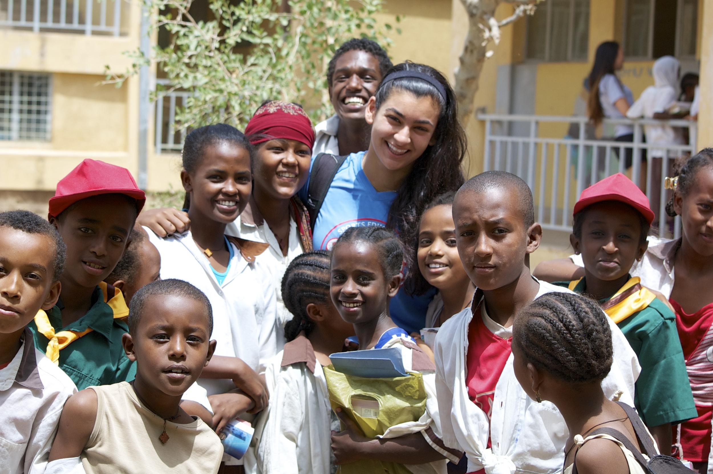 Group photo with Hanna