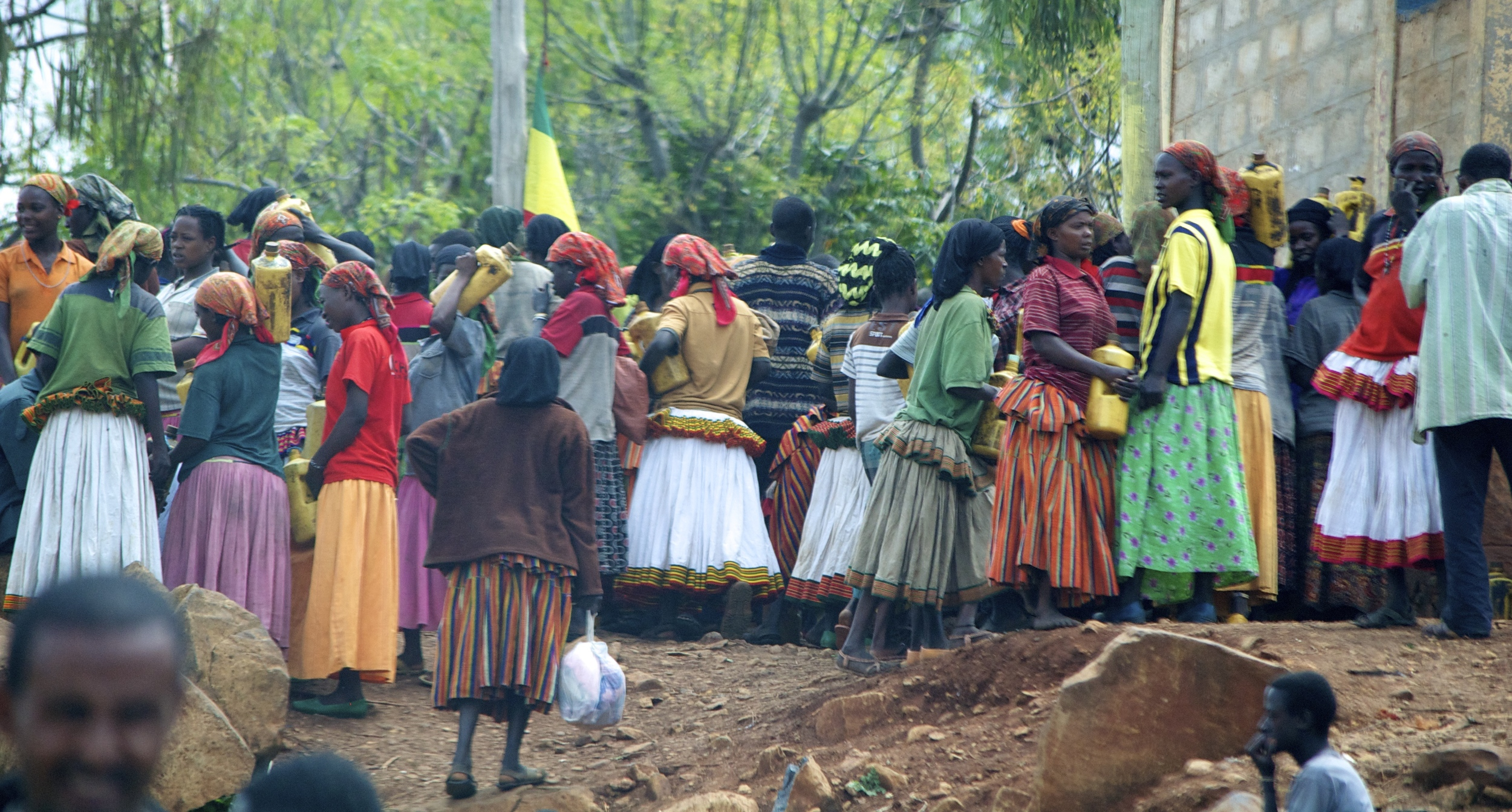 A village gathering