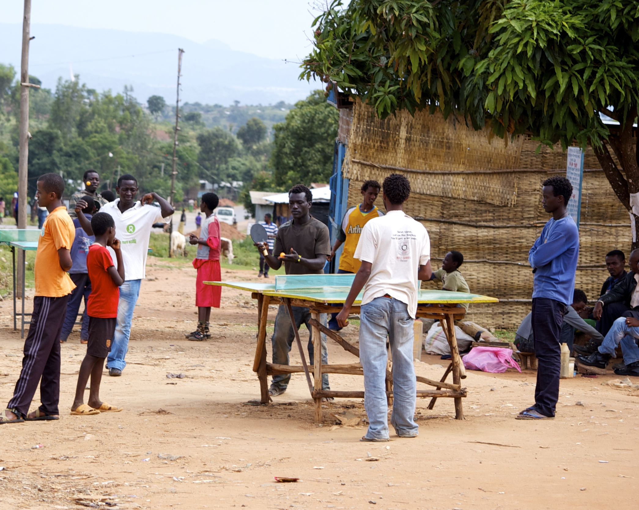 Ping Pong in Ethiopia