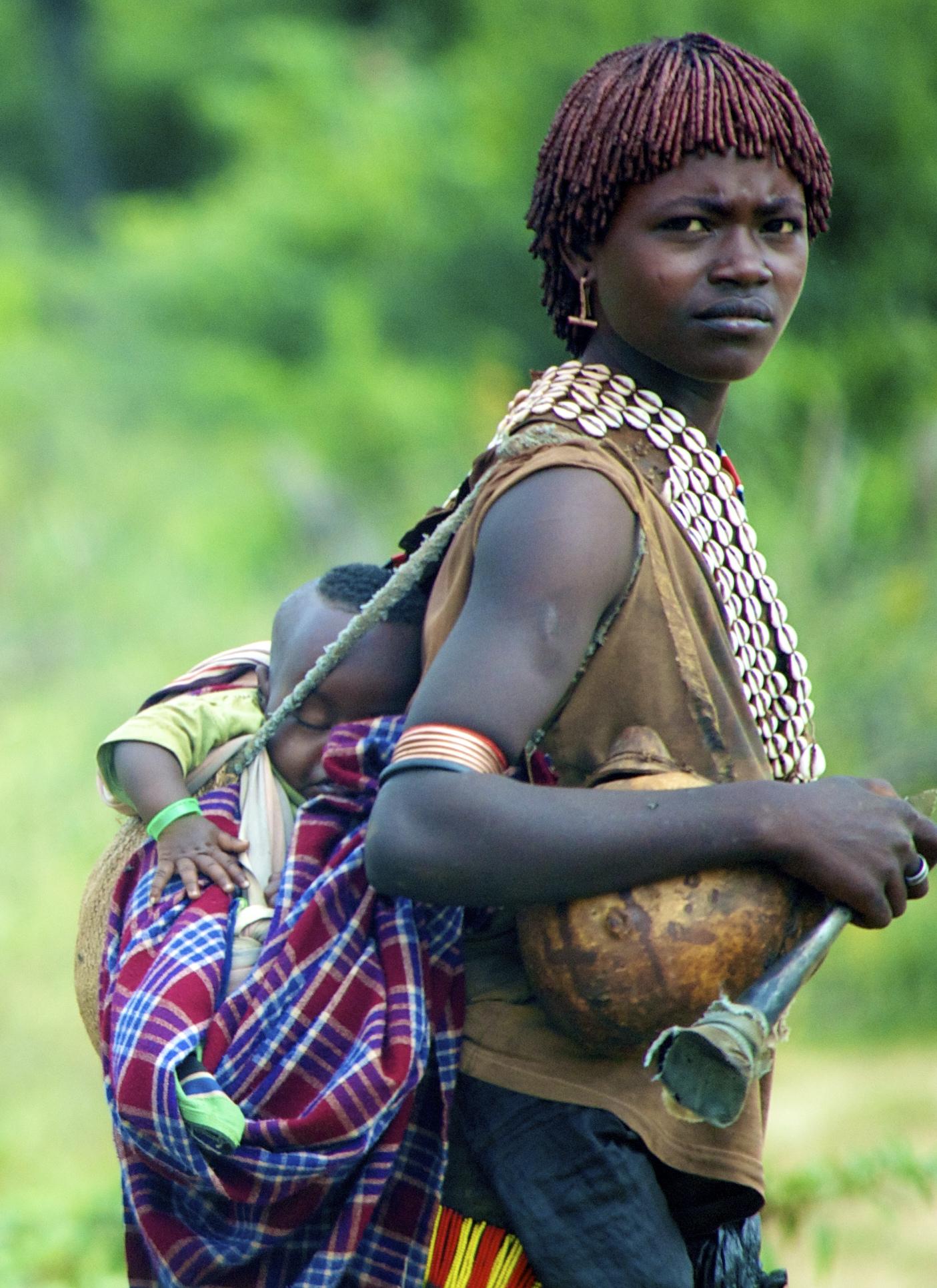 Beautiful Ethiopian Woman