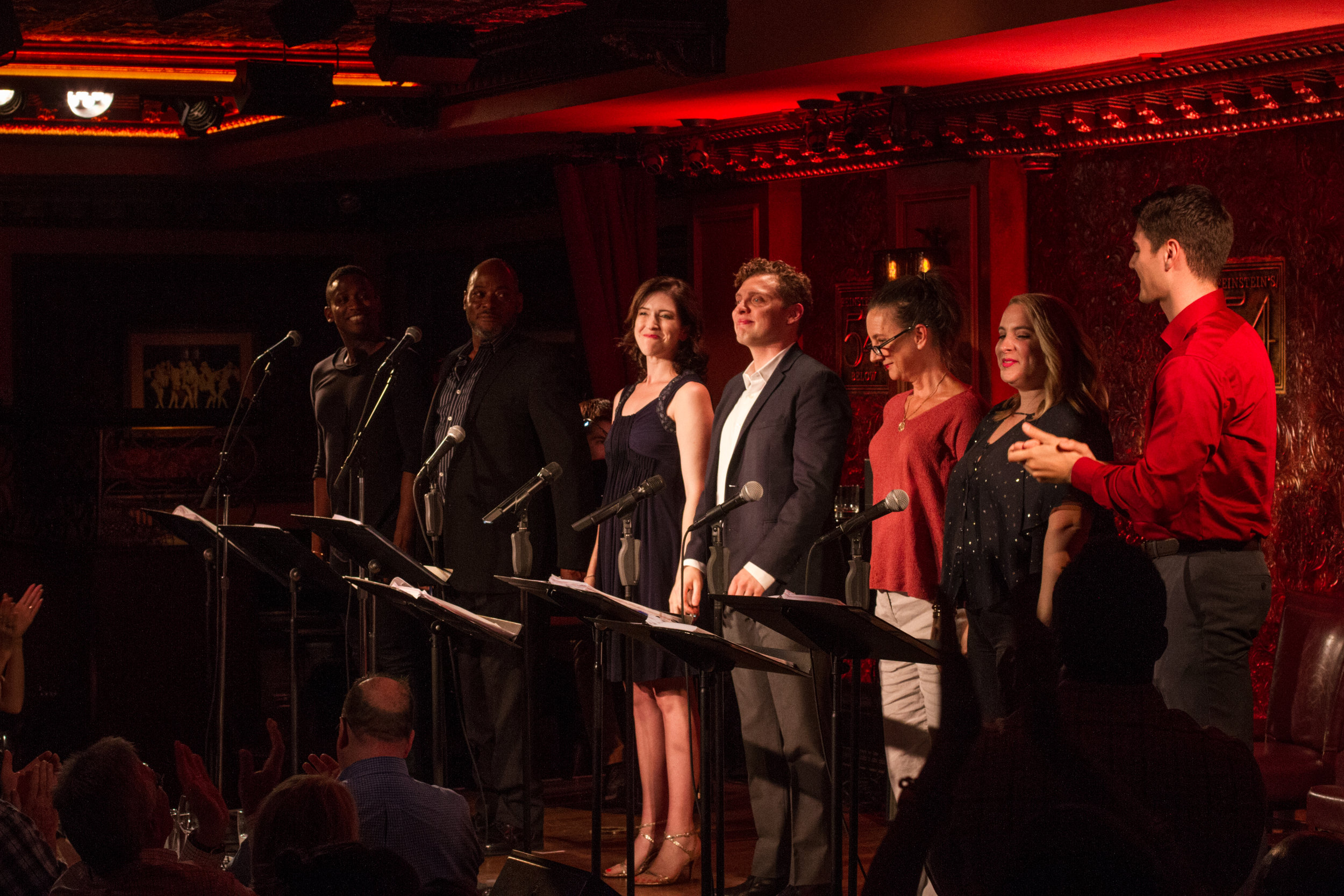 <i>A House of Glass</i> in concert (54 Below)