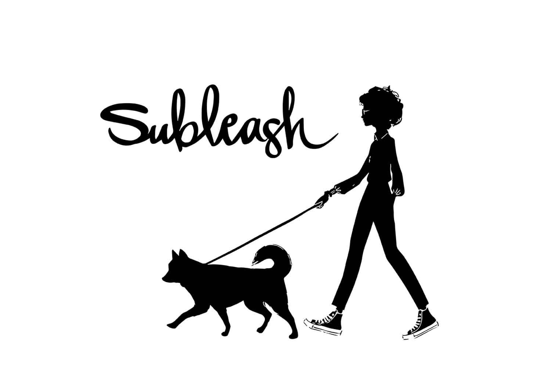 Subleash : logo development