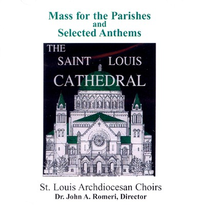 Mass for the Parishes 1. Kyrie eleison 2. Glory to God in the Highest 3. Alleluia/The Seed Is the Word of God 4. Holy, Holy, Holy Lord 5. When We Eat this Bread/Amen 6. Christ Has Died 7. Dying You Destroyed Our Death 8. Lord, By Your Cross and Resurrection 9. Lamb of God  Organ Pieces and Selected Anthems 10. Sonata 11. Jesus, the Son of Mary 12. Ave Maria 13. O Sacrum Convivium 14. Behold a Mystical Rose 15. Arioso 16. Kyrie Eleison 17. Strong, Loving, and Wise 18. Ubi caritas 19. O Little Town of Bethlehem 20. Christ Is Arisen, Let Us Sing 21. O God, Look Mercifully on These Thy Servants
