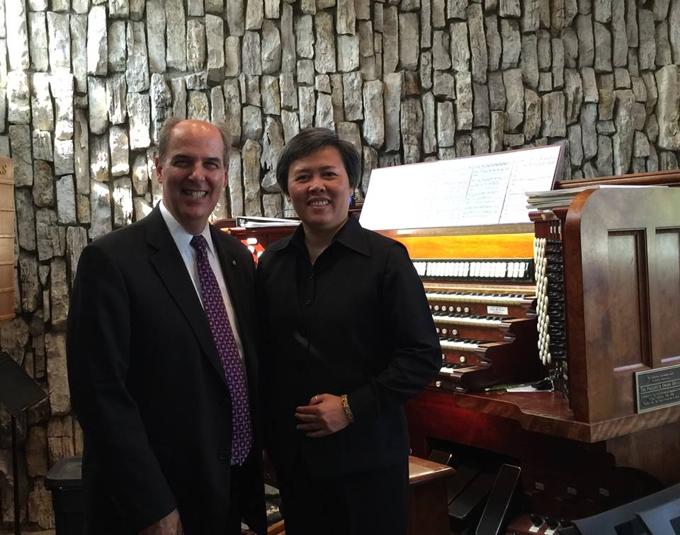 Dr. John A. Romeri, Director of Music and Organist; Magdalena BichVan, Vietnamese Choir Director