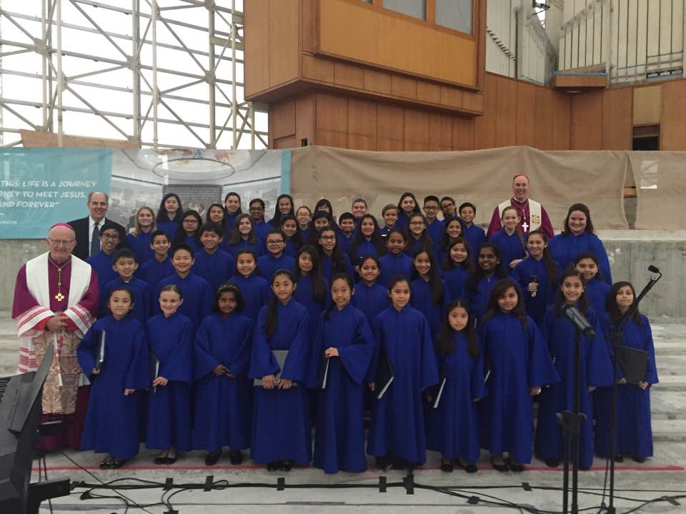 Diocesan Children's Choir 2016 - 2017