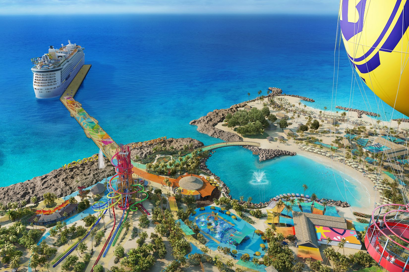 Royal Caribbean CoCoCay Island review featured by top US travel blog, Mom Crush Monday