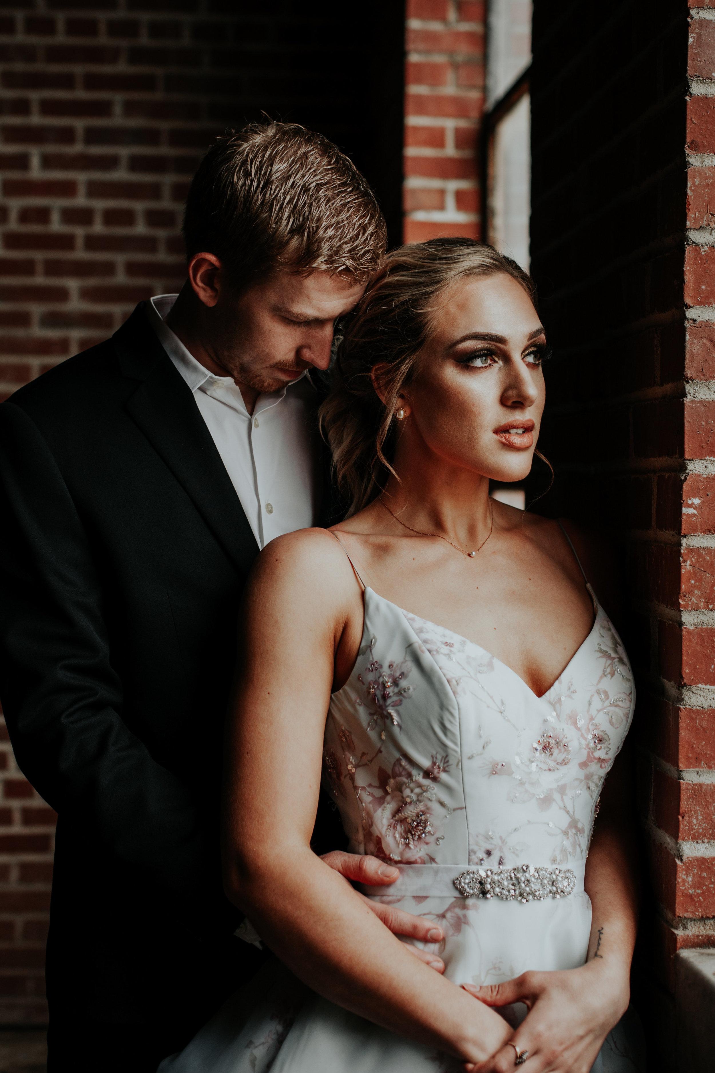 Romantic Industrial Bridal Shoot | Be Images Photography | Wichita, KS