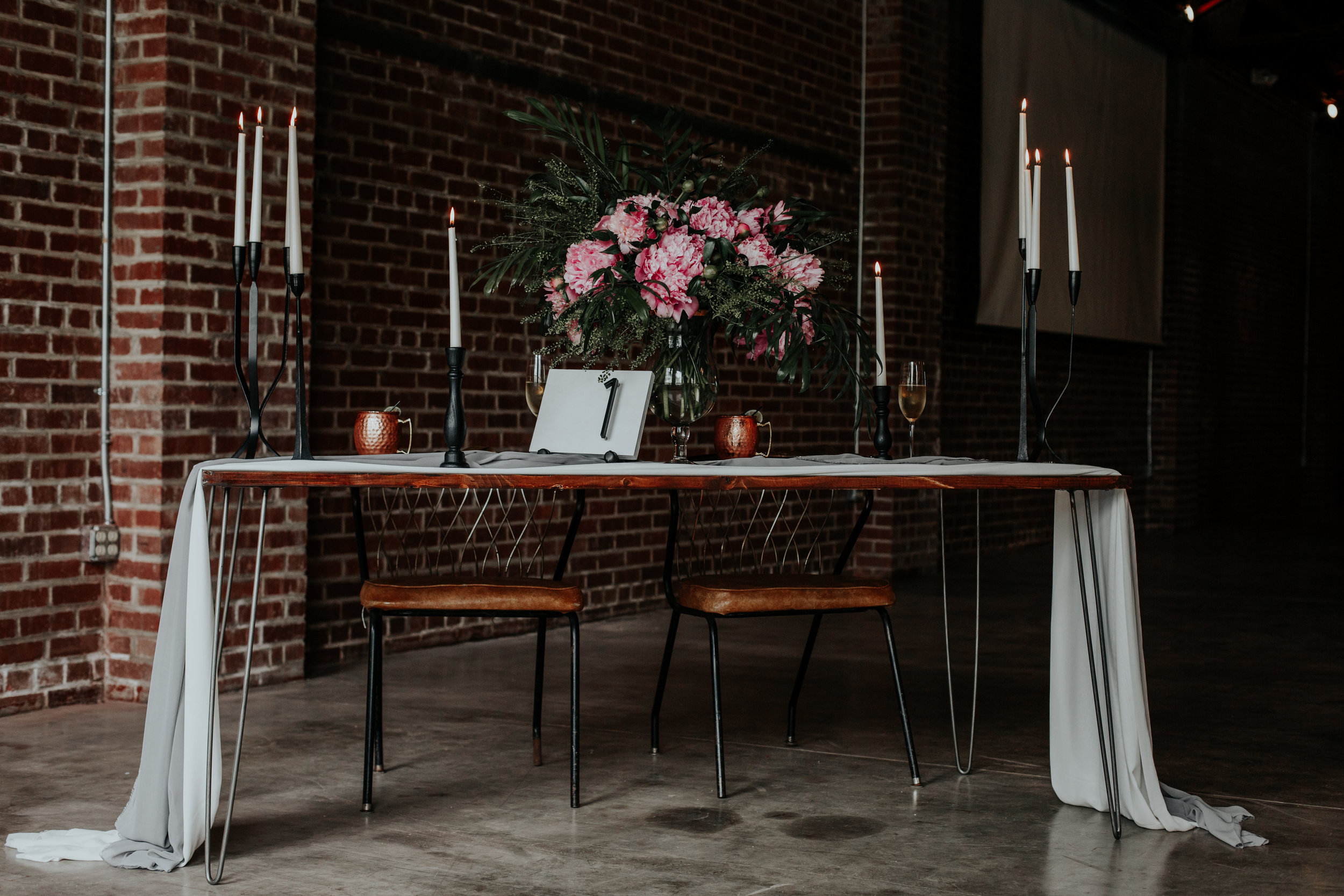 Industrial, Modern reception ideas | Be Images Photography