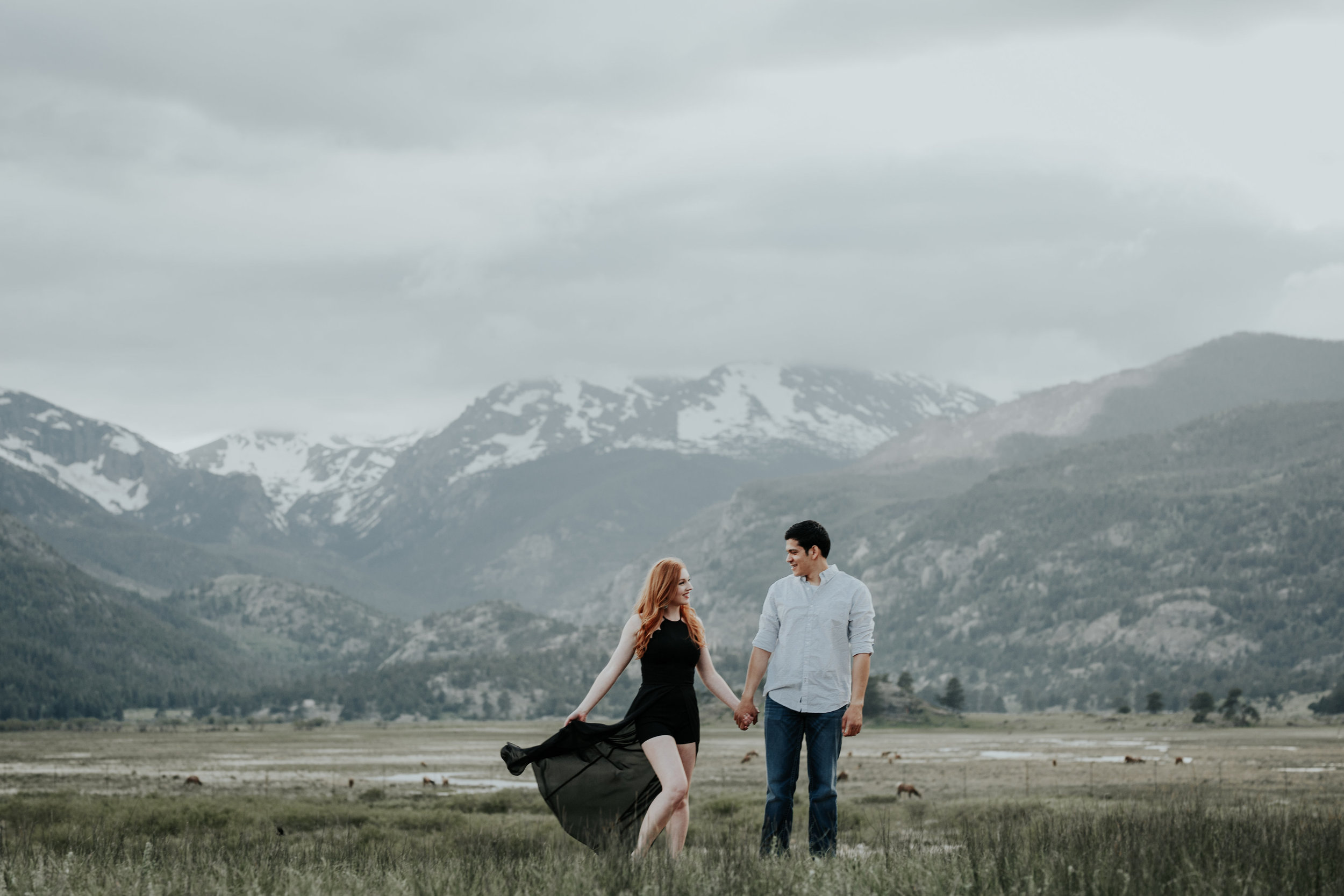Spectacular Engagement Session in the Rocky Mountains By Be Images Photography