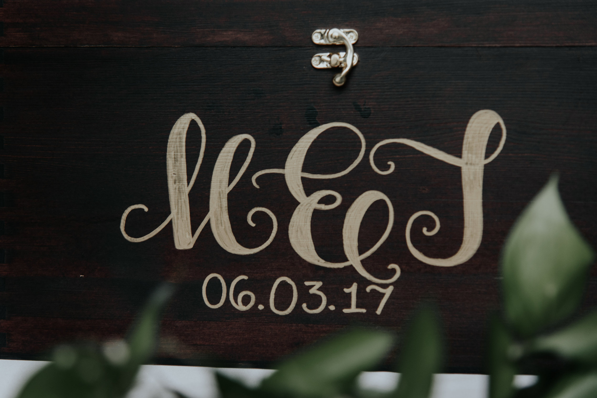 Monogram, Wooden ring holder for wedding day | Be Images Photography