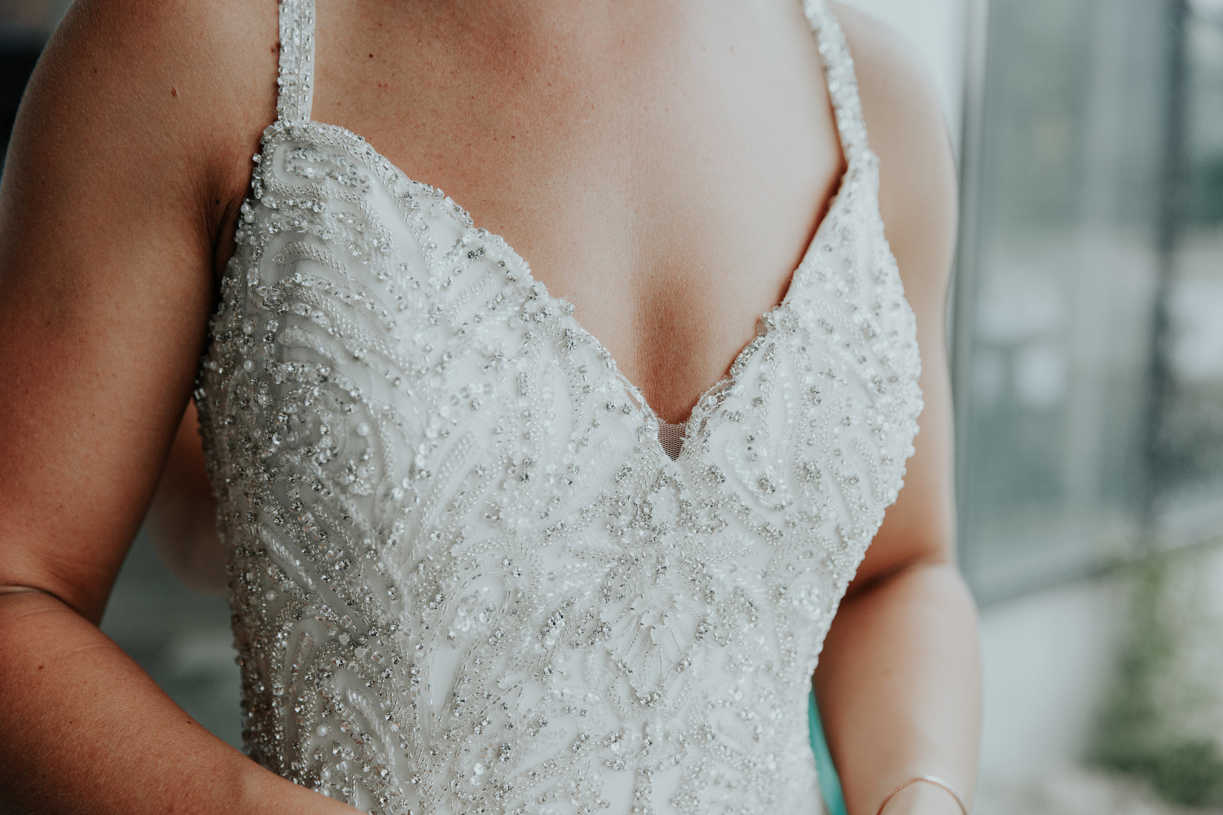Beaded bridal gown | Be Images