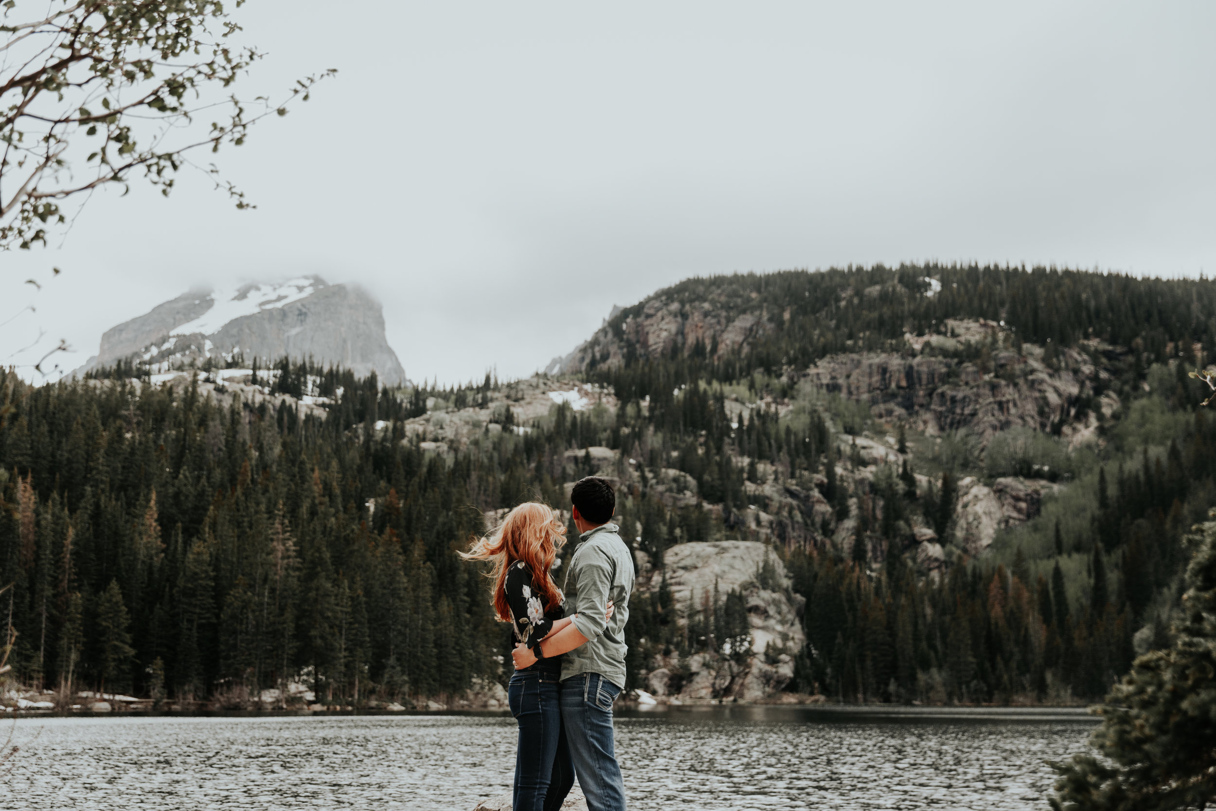Be Images | Rocky Mountain Engagement Session