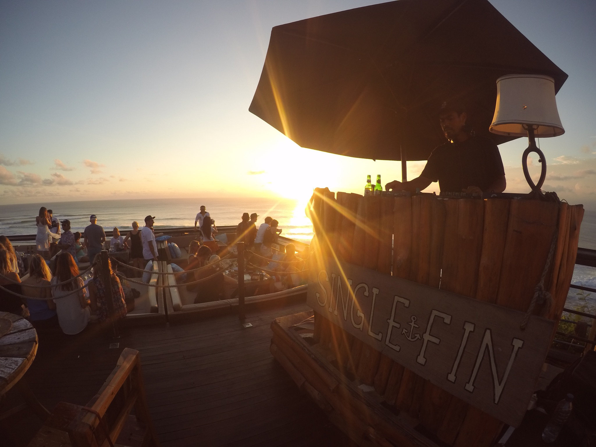 Single Fin in Uluwatu, the best bar in the world! (actually)