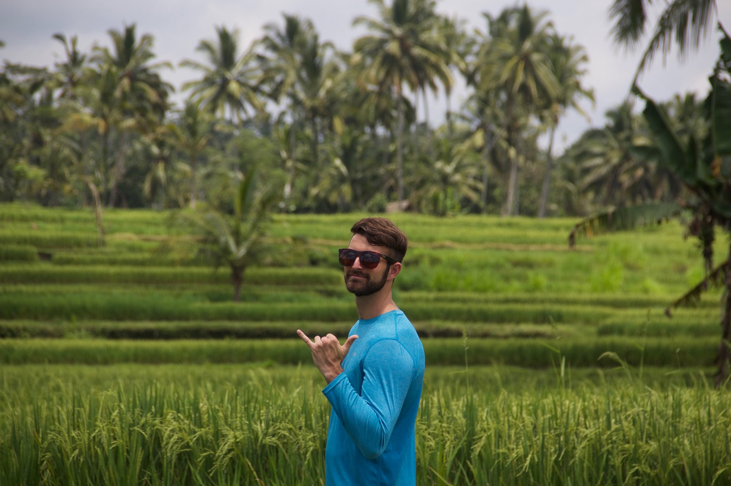 Rice field trek with Authentik Bali