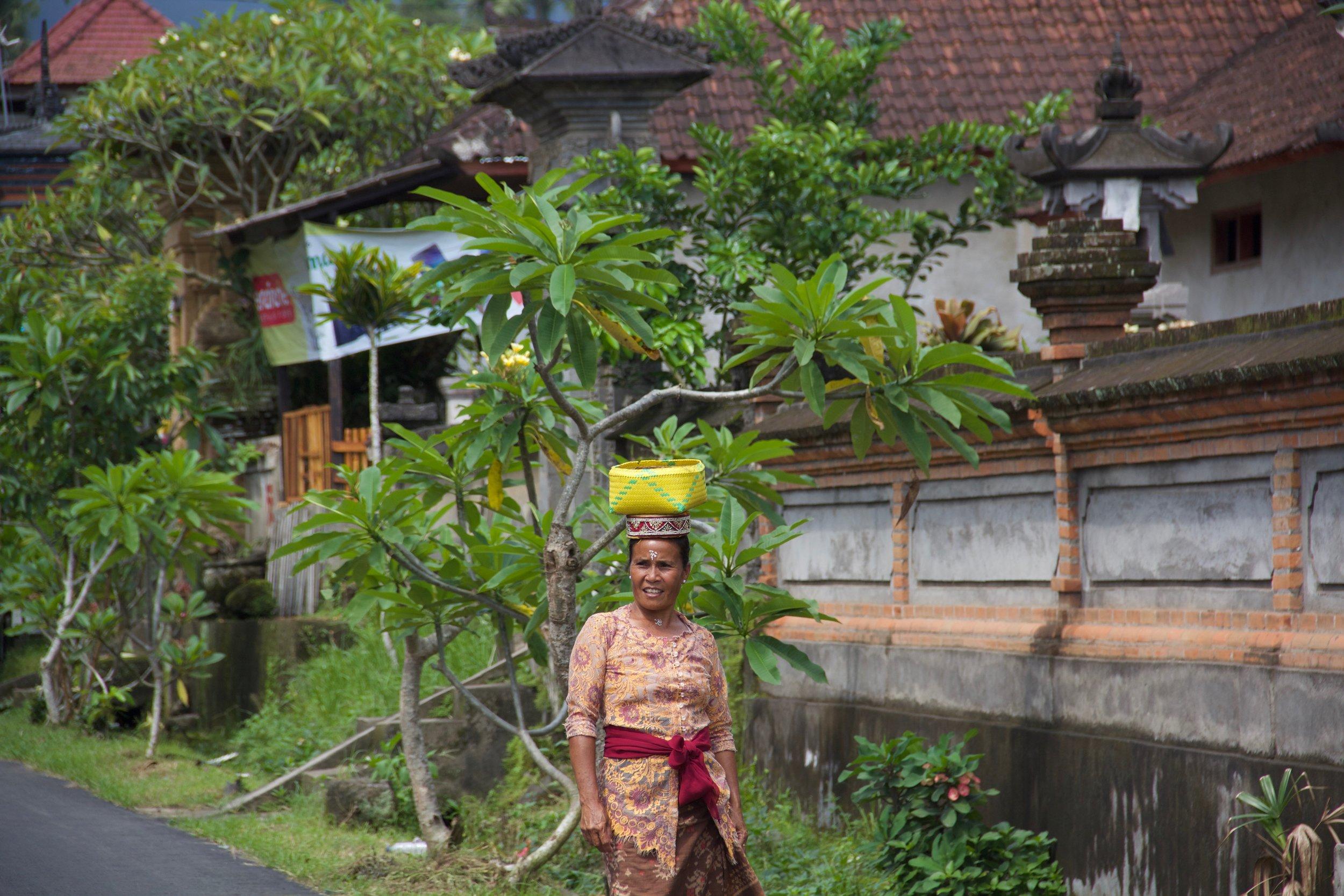 Locals in Ubud