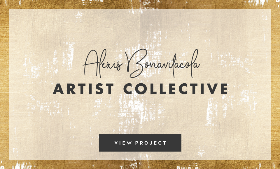 Alexis Bonavitacola Artist Collective | Design by Janessa Rae Design Creative