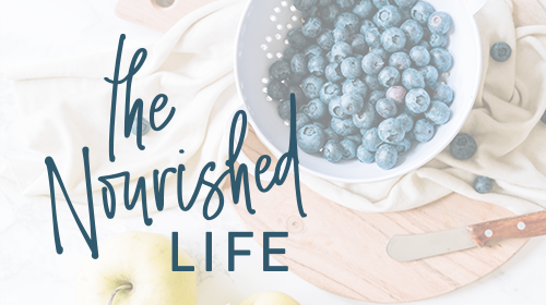 The Nourished Life - Thinkific Course Card, design by Janessa Rae Design Creative
