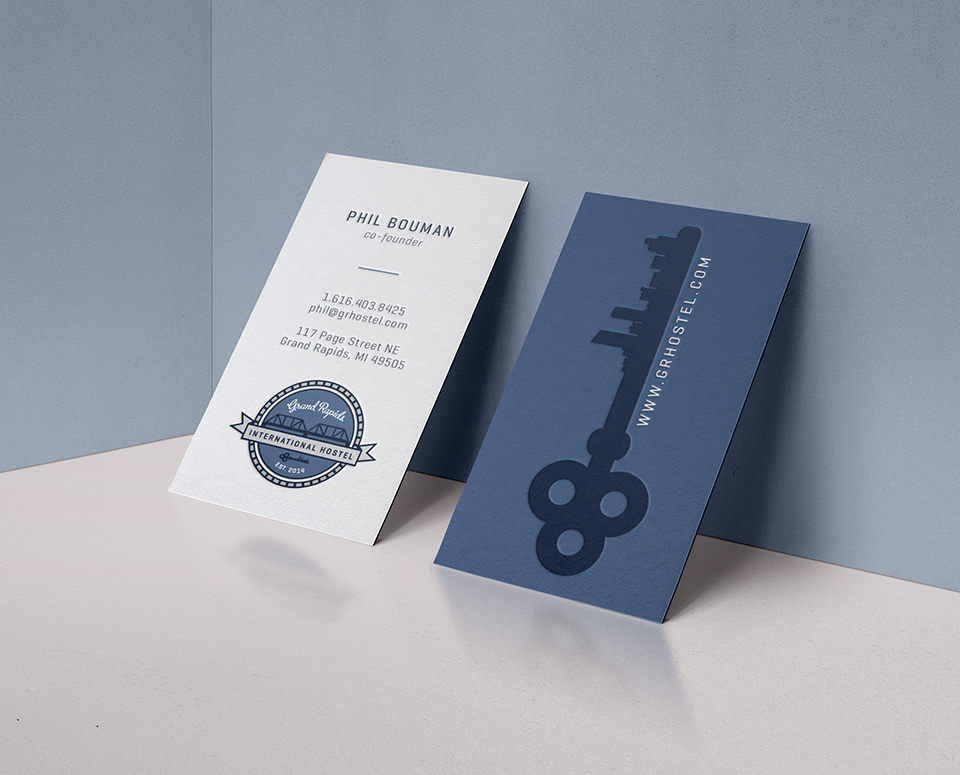 bGrand Rapids International — Branding  & Business Card Design by Janessa Rae Design Creative