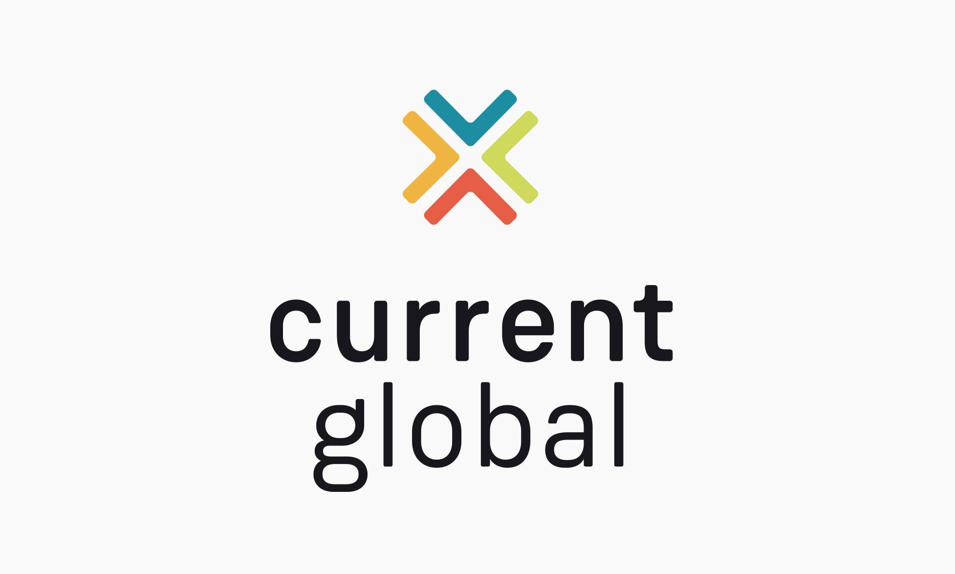 Current Global Logo Design by Janessa Rae Design Creative