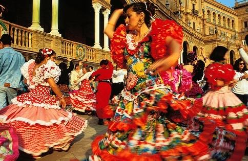 Flamenco Dancers, Seville, Spain.jpg