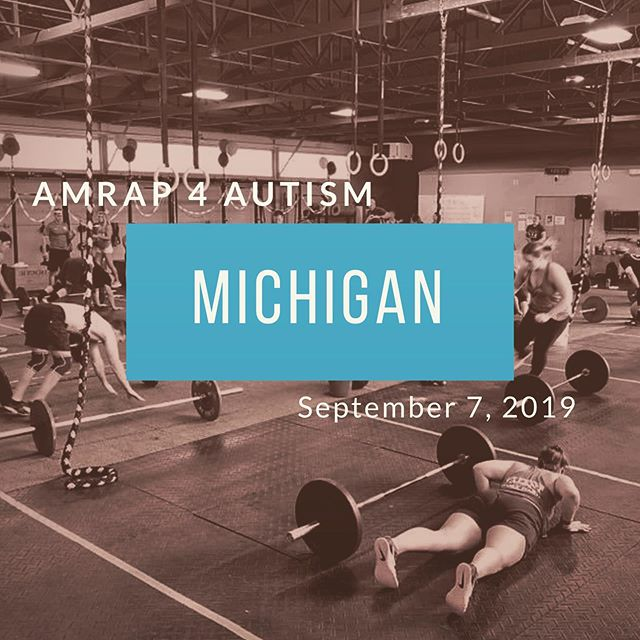 ✨It's official!✨ . An AMRAP 4 Autism event will be taking place at Hines Park CrossFit in Northville, Michigan this September! When we first started AMRAP, we had no idea how far it would go. We are so pumped to see other communities jump on board to support our cause! Not only will the money raised at this event benefit the Autism Strong Foundation, but part of the proceeds will also stay in the Northville area, benefitting the @livingandlearningcenter 🔹 If you are in the area you can sign up to participate in, or donate to, the MI event by visiting give.amrap4autism.com/northvilleathletix 🔹 Stay tuned for more information on the Charlotte event, details to be announced later this year! . . . #amrap4autism #autismstrongfoundation #charlotteevents #nonprofit #charity #hopeforlandon #autism #autismawareness