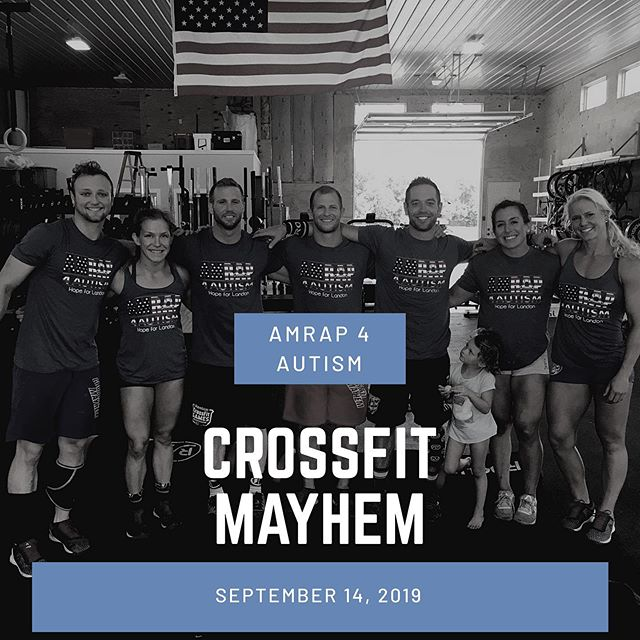 Who is ready for a road trip?! We are excited to announce our partnership with @thecrossfitmayhem who will be hosting their own AMRAP 4 AUTISM on September 14th! Donations and proceeds will of course benefit the Autism Strong Foundation, but will also stay local. 🧩  If you are in the Cookeville, TN area you can sign up to participate in or donate to the event by visiting give.amrap4autism.com/crossfitmayhem 🧩 #autism #autismawareness #crossfit #amrap #charity #amrap4autism #nonprofit #amrap4autism