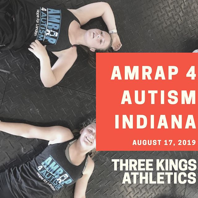 Excited to partner with @3kings_athletics who will be hosting an AMRAP 4 Autism event in Noblesville, IN on August 17th 2019! Not only will the money raised at this event benefit the Autism Strong Foundation, but part of the proceeds will also benefit a local organization @linkedbehavior  If you are in the area you can sign up to participate in or donate to the Indiana event by visiting give.amrap4autism.com/threekings .  Thank you Three Kings for being an A4A partner 🧩 #amrap4autism #autismstrongfoundation #nonprofit #charity #hopeforlandon #autism #autismawareness