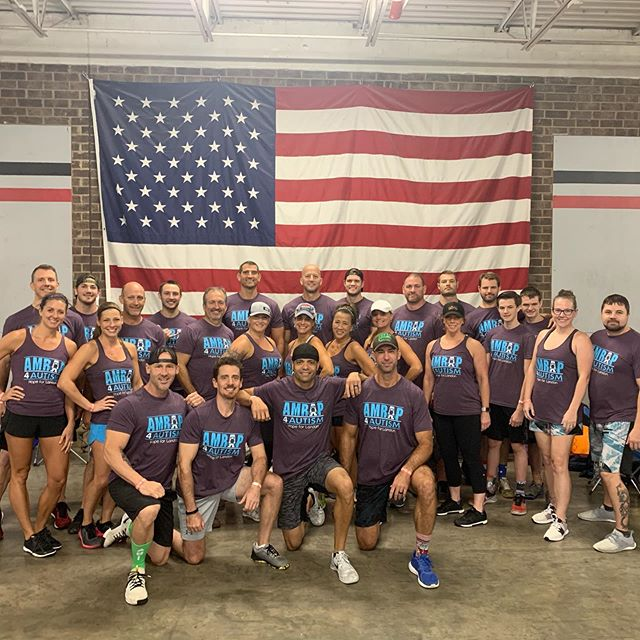 Another great event for our Amrap 4 Autism athletes supporting Row 4 SO @crossfitcatawbavalley. Always amazed by this community. Oh, and the new colors are sweet. Thanks@snatchandrun.#row4SO #amrap4autism #charity #bestofclt #nonprofit #love #crossfit