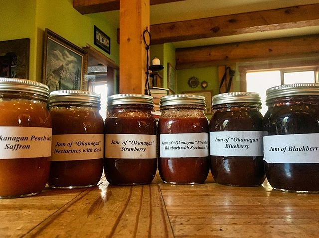 Some days we don't just deliver yumminess - we get some in return! These unique jams were a gift from one of our amazing chefs - Hans from @post.hotel.lake.louise 😊Experiencing first hand what people are creating with our stuff inspires us to continue to search out extraordinary produce for our chefs! Thank you Hans! Can't wait to try these 😋 . #gift #jam #okanaganjam #creativity #fruit #produce #local #okanagan #southokanagan #farmlife #organics #organicproduce #exploreokanagan #similkameen #similkameenvalley #farmfresh #farm #explorebc #imagesofcanada #fruit #buylocal #farmingandstuff #harvestseason #localfood #harvest #cawstonbc #organiccapitalofcanada