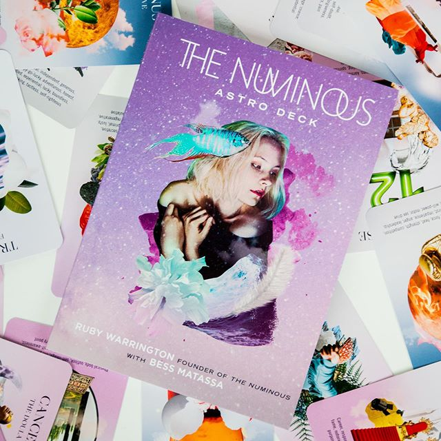 Happy debut day to this little babelette! The Numinous Astro Deck is now out in the big wide world, and with a Sun, Moon, and Rising all in Gemini, is built for rainbow curious explorations into the luminous language of astrology. Created by @rubywarrington, with artwork by @princelauder, and writing by Ruby and I, it's both a potent teaching tool to bring you deeper into your own birth chart and those of your beloveds, and a magical oracle for celebrating how these astro archetypes can be harnessed on the daily. I've been clutching astro guides and tarot decks close to my beating heart since I was a wee one, and my Leo Moon is pulsating with pride over the creation of this love letter to the cosmos! If you're feeling it too, follow the link in my profile to discover more and get your copy!