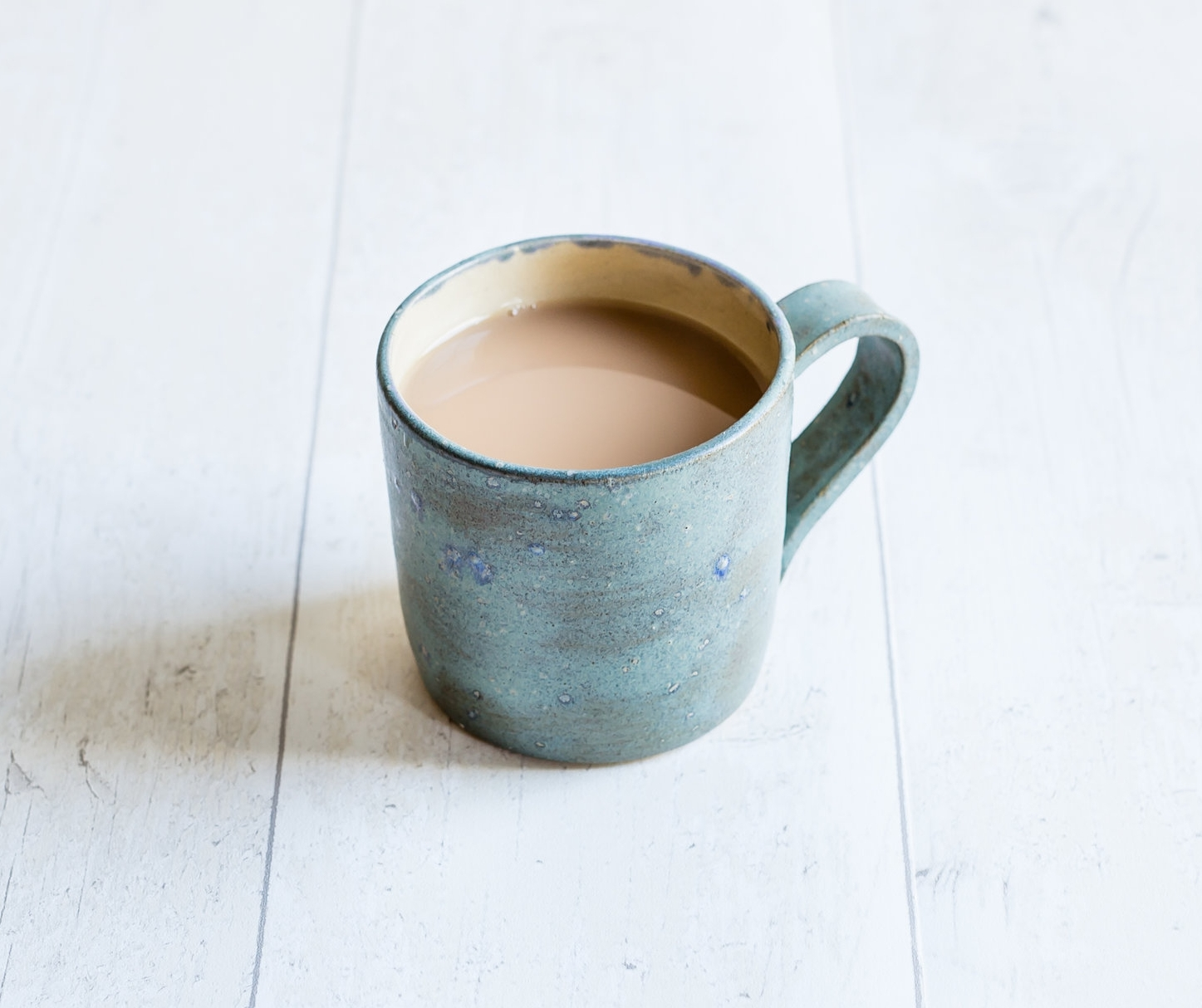 Frosty Blue Green Mug