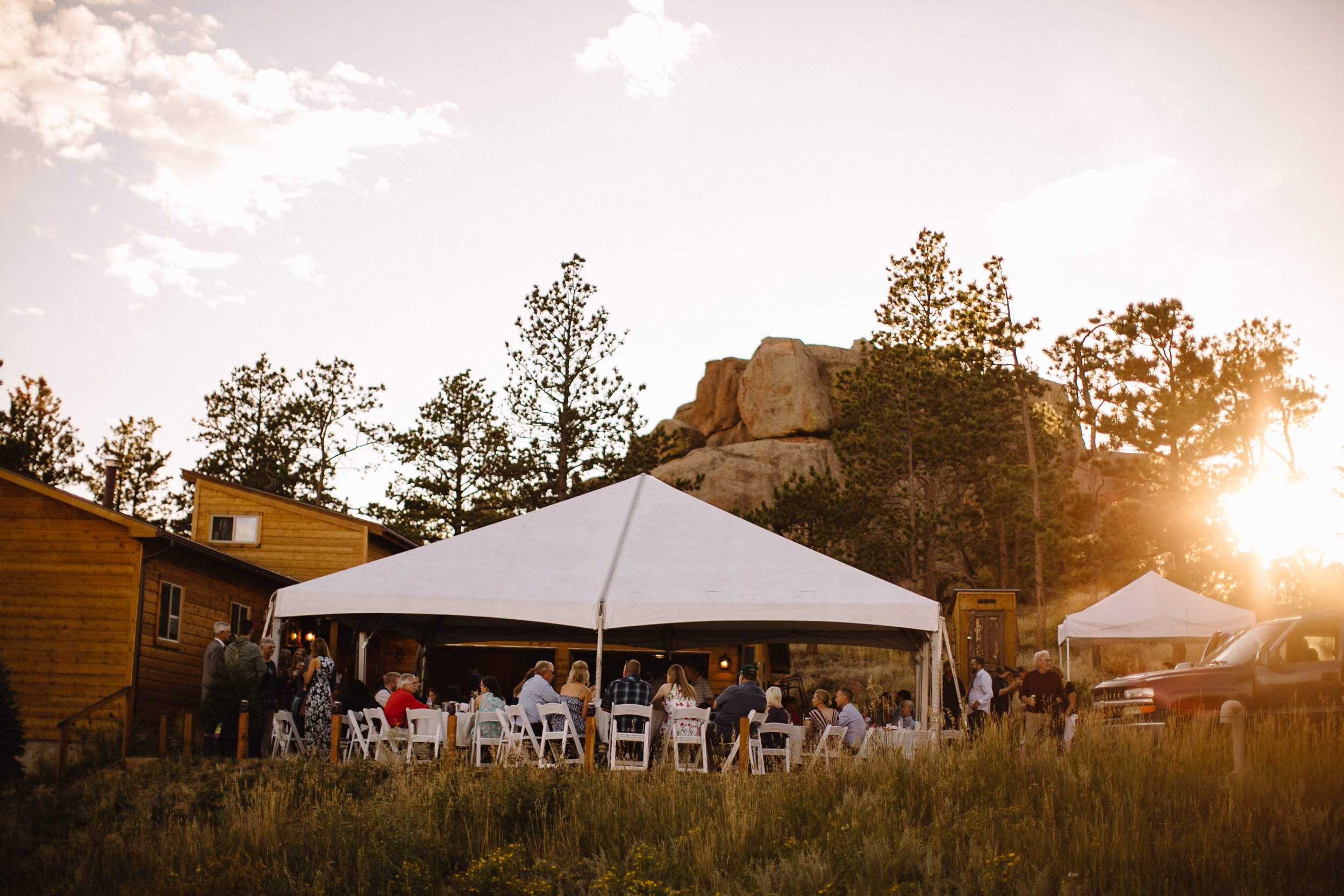 Liz Osban Photography Vedauwoo Buford Wyoming Happy Jack Wedding Elopement Destination Small Forest Cheyenne Laramie Medicine Bow National Forest Reception Belafuco's Pizza2.jpg
