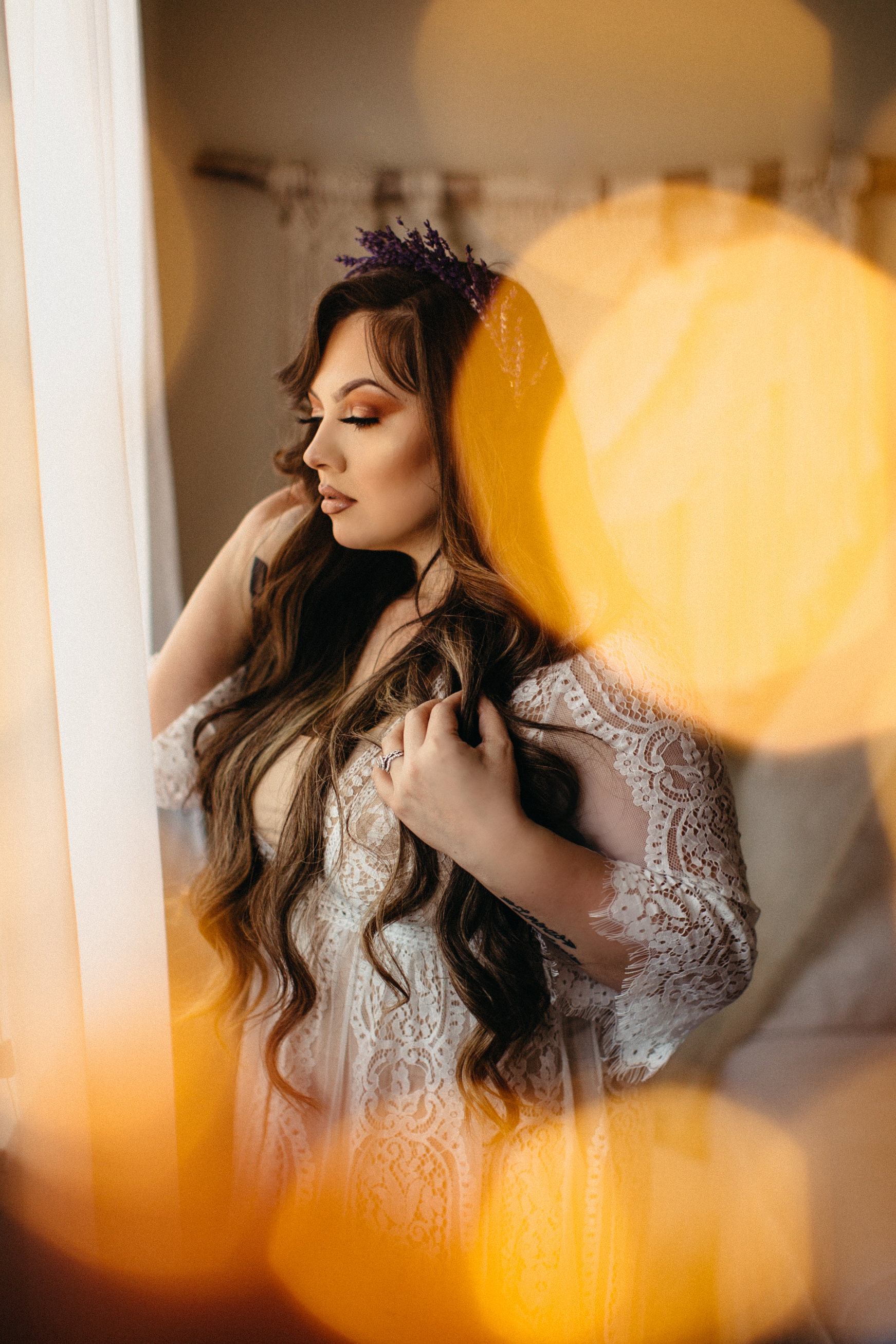 Liz Osban Photography Boudoir Sweetheart Sessions Session Tavae Hurtado pinup Cheyenne Wyoming Ft Collins Colorado Self Love Flower Crown Wedding Elope Eloping Elopement Engaged Gift1.jpg