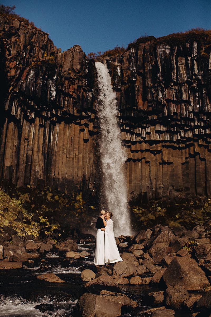 Iceland photographer elopement Vatnajökull National Park Svartifoss Waterfall Wedding Destination Eloping elope photoshoot marriage lgbt engagement adventure icelandic Vik Skogafoss Jokulsarlon4 .jpg