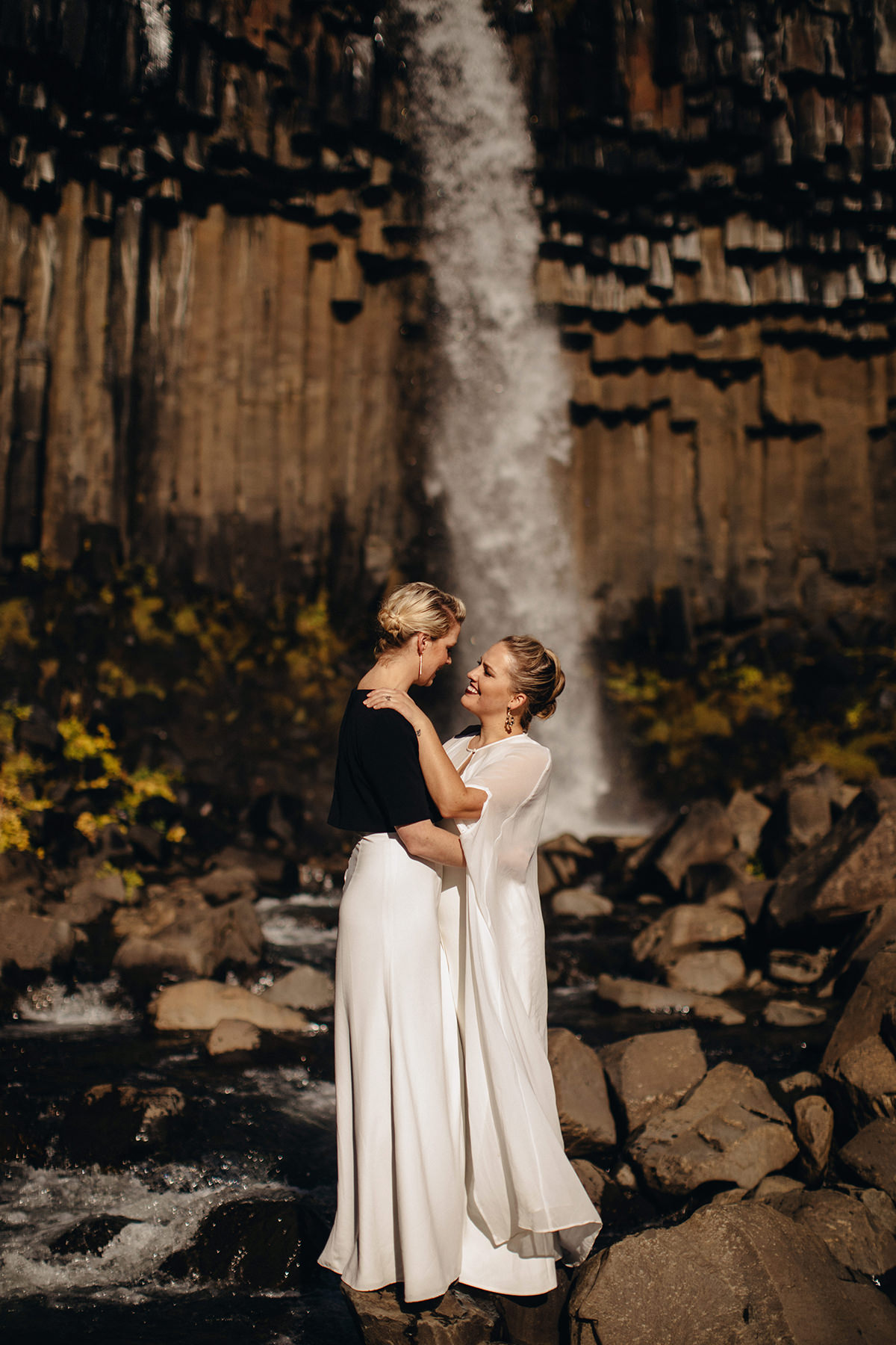 Iceland photographer elopement Vatnajökull National Park Svartifoss Waterfall Wedding Destination Eloping elope photoshoot marriage lgbt engagement adventure icelandic Vik Skogafoss Jokulsarlon4.jpg