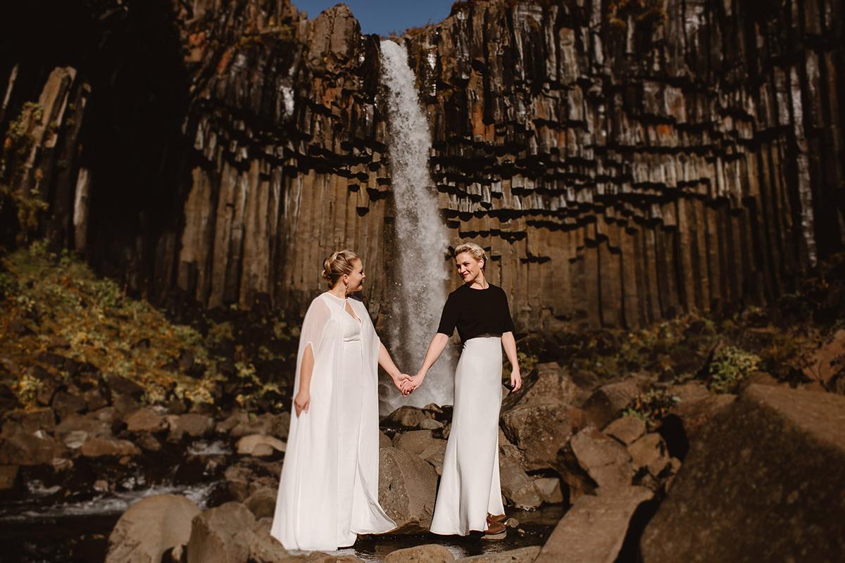 Iceland photographer elopement Vatnajökull National Park Svartifoss Waterfall Wedding Destination Eloping elope photoshoot marriage lgbt engagement adventure icelandic Vik Skogafoss Jokulsarlon6.jpg