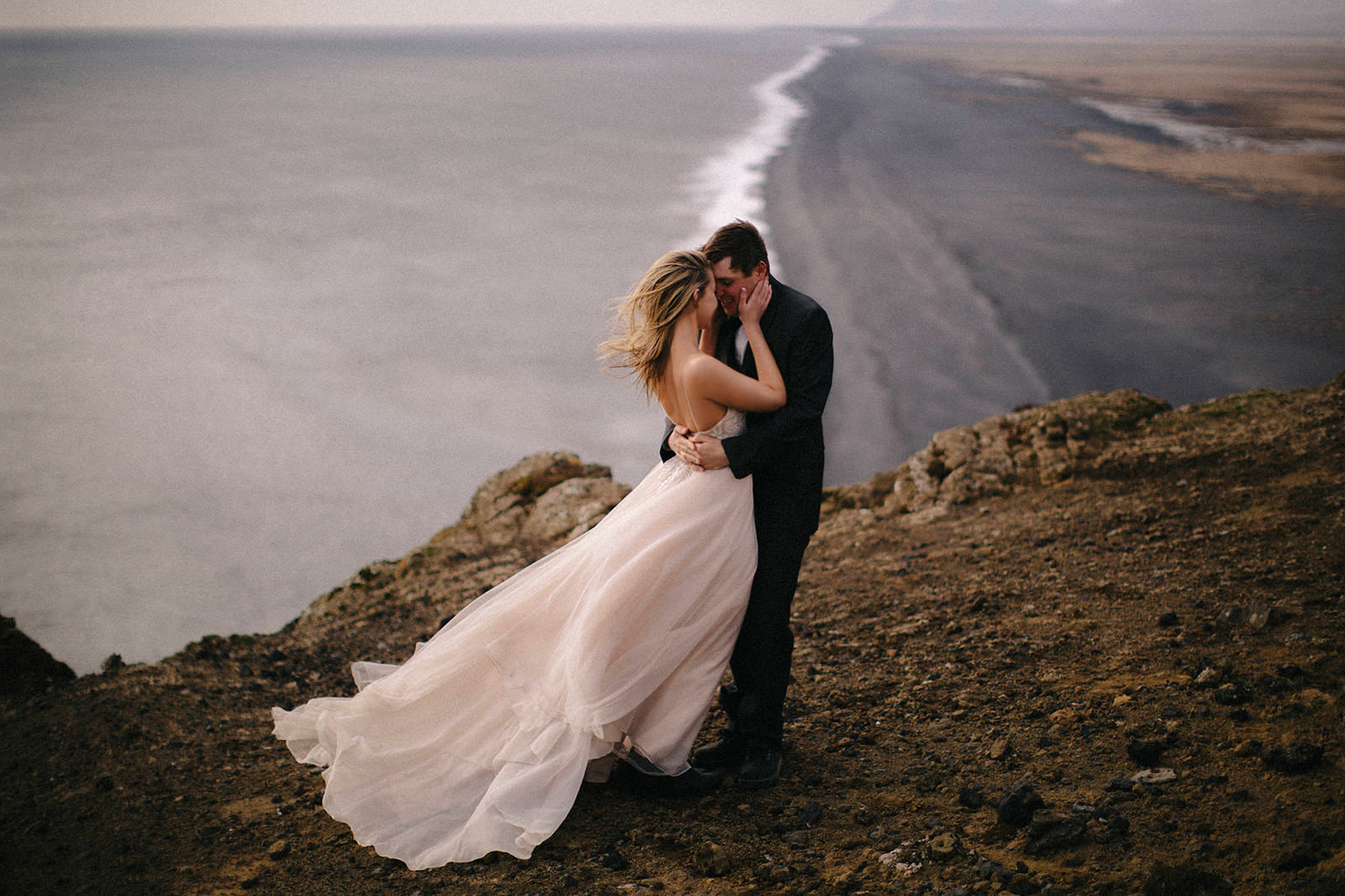 Liz Osban Photography Iceland Elopement Elope Wedding Dress Vestrahorn Mountain Stokksnes Hofn Black Sand Beach Destination Adventure Authentic Love Colorado Wyoming Engagement 4.jpg