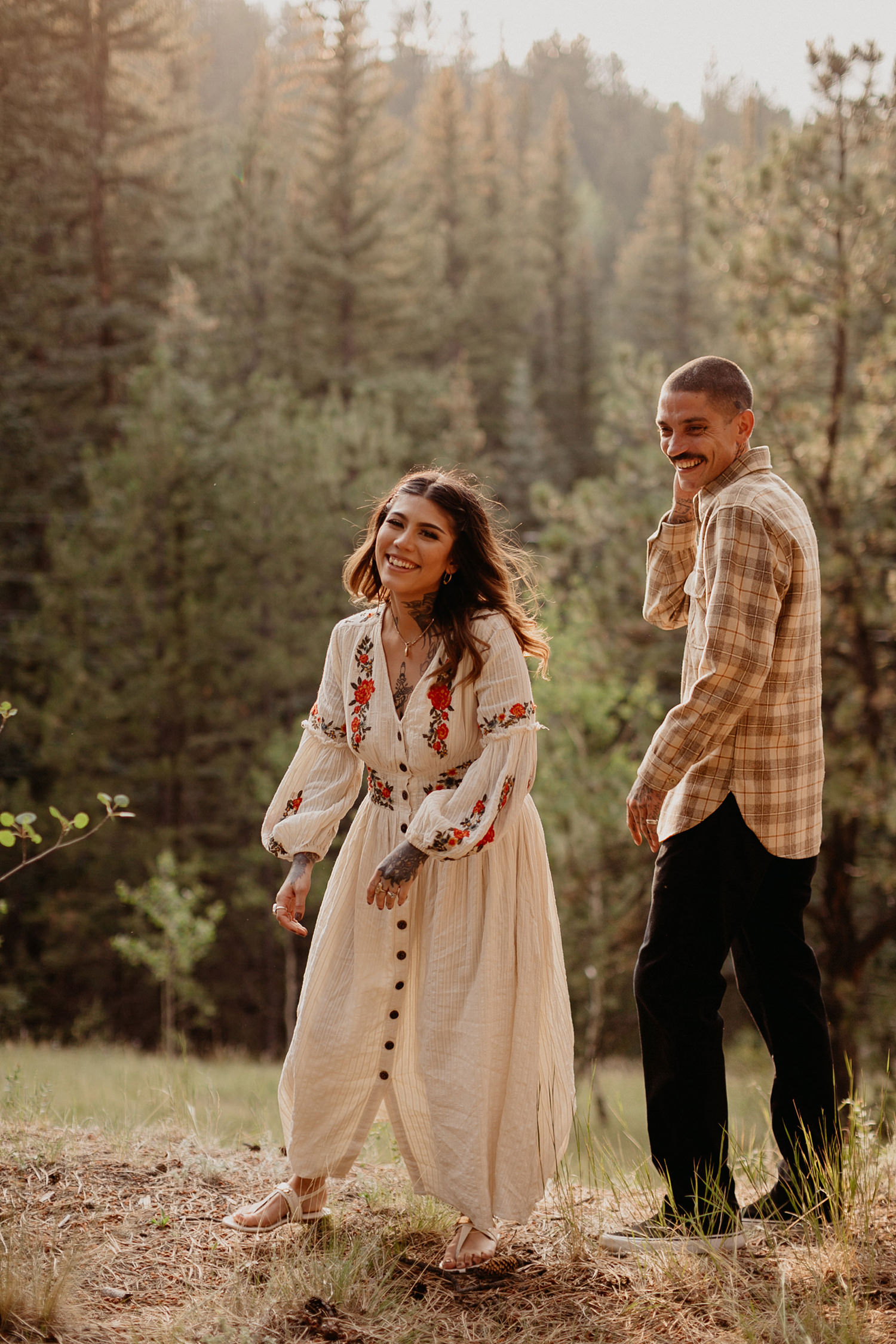 Bailey Colorado Denver Wedding Engagement Photographer Liz Osban Cheyenne Wyoming Mountain Elopement Boho bohemian vintage film tattoo non traditional tattooed rock and roll 13.jpg
