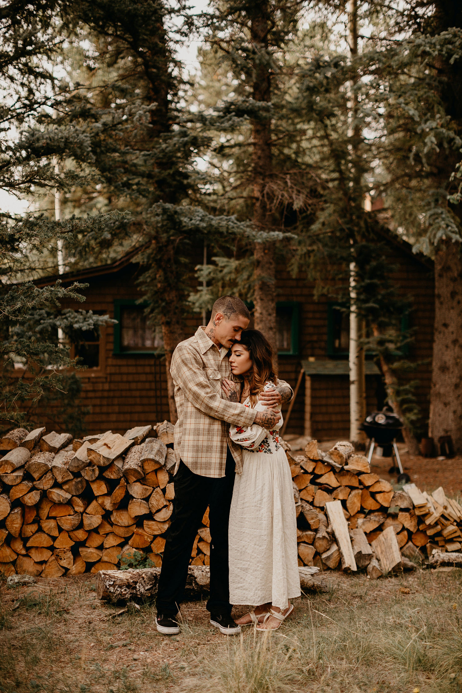 Bailey Colorado Denver Wedding Engagement Photographer Liz Osban Cheyenne Wyoming Mountain Elopement Boho bohemian vintage film tattoo non traditional tattooed rock and roll 23.jpg