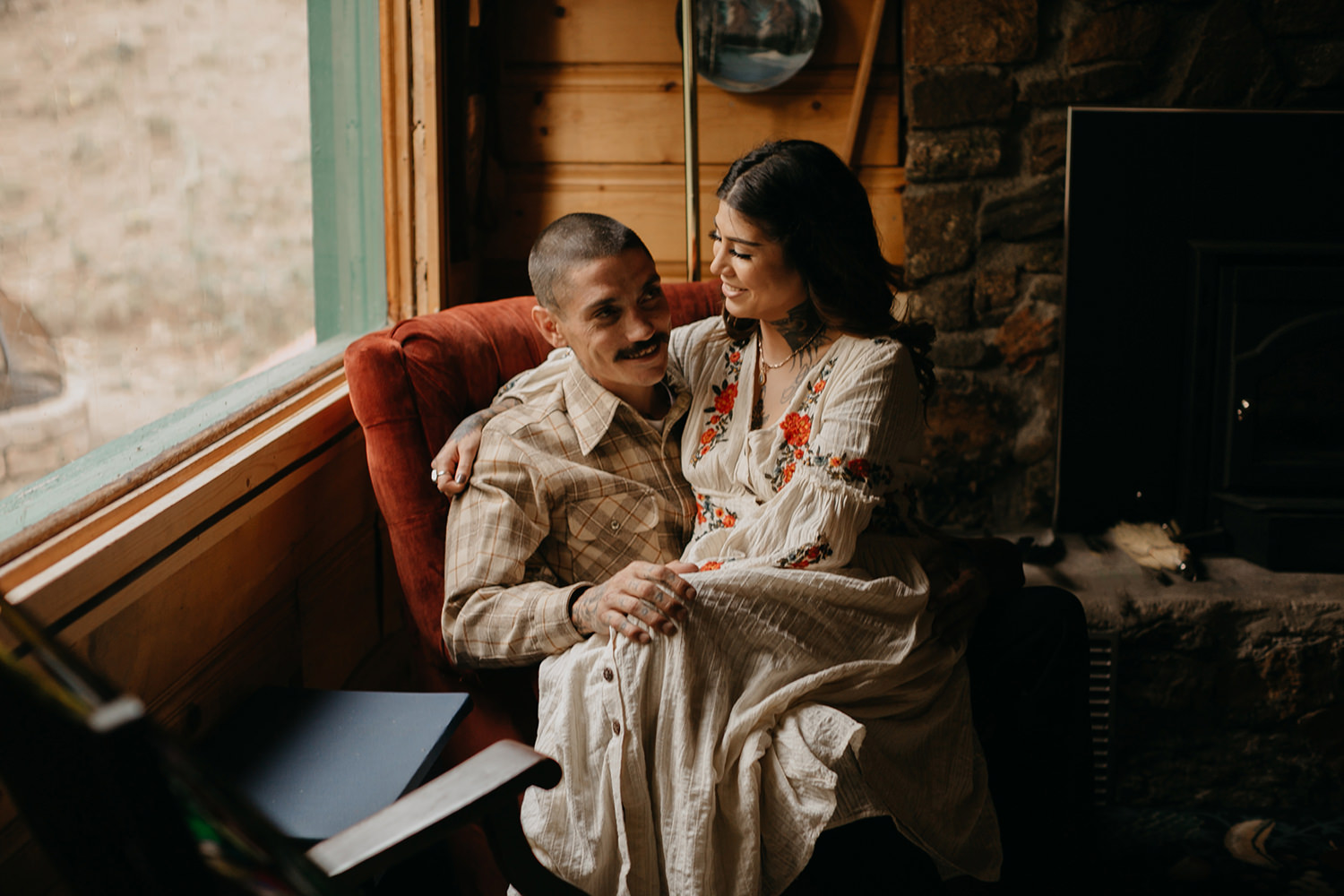 Bailey Colorado Denver Wedding Engagement Photographer Liz Osban Cheyenne Wyoming Mountain Elopement Boho bohemian vintage film tattoo non traditional tattooed rock and roll 42.jpg